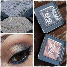 Liquid Eyeshadow, Eyeshadows, Beauty Hacks, Beauty Tips, Beauty Products, Der Handel, Rose Gold Makeup, Gold N, Liquid Metal