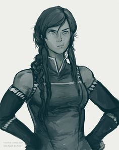 "taikova: "" the only acceptable parent!korra headcanon to me is when the world is misbehaving and out of balance which makes korra very disappointed. Avatar Airbender, Avatar Aang, Team Avatar, Fan Art Avatar, Mode Geek, Water Tribe, Nickelodeon Cartoons, Avatar Series, Korrasami"