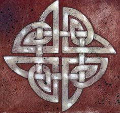 trying to figure out how to mesh a celtic knot with four seasons without it looking awful and tacky