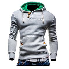 Partiss Herren Pure Color Hoodie Kapuzenpullover, 44,lightgrey Partiss http://www.amazon.de/dp/B00SMRWKDI/ref=cm_sw_r_pi_dp_mRa4vb1M79EJ3