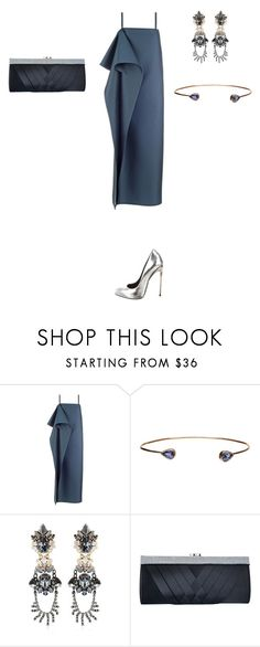 """""""Untitled #958"""" by elenekhurtsilava ❤ liked on Polyvore featuring Dezso by Sara Beltrán, Anton Heunis, GCGme and Giuseppe Zanotti"""