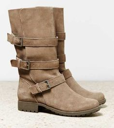 AEO Slouchy Buckle Boot - Free Shipping