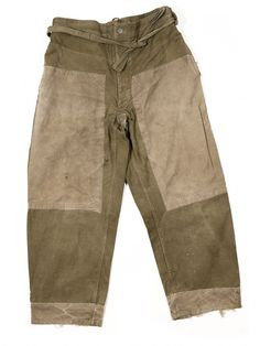 Motorcycle 1940s French military pants