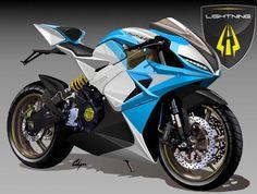 Lightning LS-218, das schnellste Elektromotorrad der Welt - DesignNerd