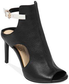 $110 macys low heel 3 ish Jessica Simpson Manali Cutout Shooties