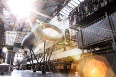 Het mooie ROC van Twente in een prachtig opgeknapt industrieel gebouw (Gieterij)