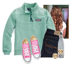 """""""I don't understand why it is cool outside... It is SUMMER"""" by flroasburn on Polyvore featuring Abercrombie & Fitch, Converse, S'well and Tory Burch"""