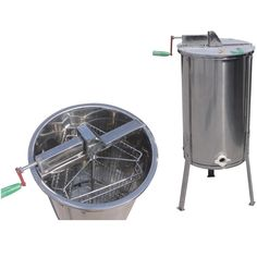 160.00$  Watch here - http://aliigf.worldwells.pw/go.php?t=1000001264237 - whole body stainless steel 3 frames manual honey extractor machine with legs 160.00$