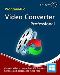 Program4Pc Video Converter Pro 9.8.1 Crack