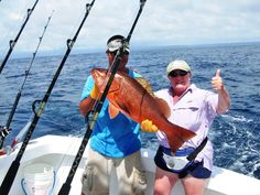 Casa Corcovado Jungle Lodge offers several economically priced sportfishing packages in the incredible waters of the South Pacific Coast of Costa Rica. More than 40 world records have been set in the area which abounds which schools of dorado, yellowfin tuna, spanish mackerel, jacks and wahoo.