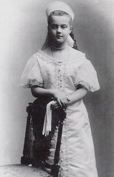 A young grand duchess Marie Pavlovna the younger in court dress