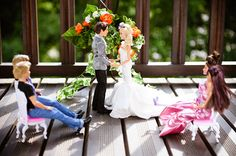 Barbie and Ken have such a public life, so they had a private wedding