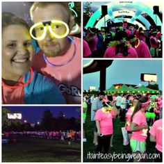 The Glo Run #theglorun #5k #bigfourbridge #louisville