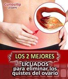 Licuados para Eliminar Quistes del Ovario | Eternitips