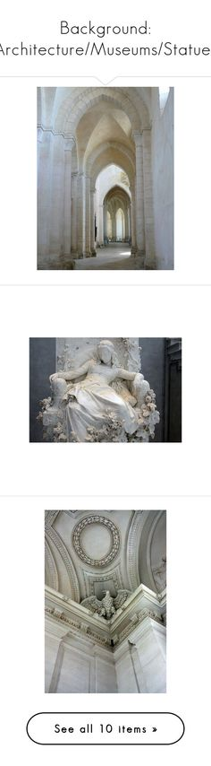 """""""Background: Architecture/Museums/Statues"""" by ps-vasia ❤ liked on Polyvore featuring backgrounds, pictures, photos, images, architecture, pics, fillers, statues, decor and accessories"""