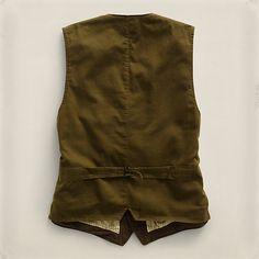コットン Edward ウエストコート ・ メンズ ジャケット & アウター ・ アパレル ・ メンズファッション通販 | RRL - Ralph Lauren Japan (ラルフローレン)