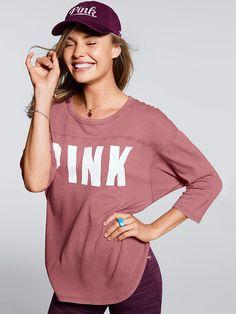 Boyfriend Jersey - PINK - Victoria's Secret