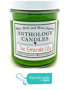 The Emerald City Candle - Wizard of Oz Candle, Classic Movie Candle, Judy Garland Candle, Gift for Movie Lover, Gift for Judy Garland Lover from Anthology Candles http://www.amazon.com/dp/B0181LRW46/ref=hnd_sw_r_pi_dp_RlFBwb11E878V #handmadeatamazon