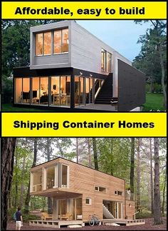 container homes plans Design and build your own shipping container home. Get all the detailed plans today! Who Else Wants Simple Step-By-Step Plans To Design And Build A Container Home From Scratch? Cargo Container Homes, Building A Container Home, Building A Tiny House, Storage Container Homes, Container House Plans, Container House Design, Shipping Container Homes, Shipping Containers, Casas Containers