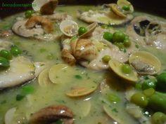 Bocados Caseros: Merluza en salsa verde