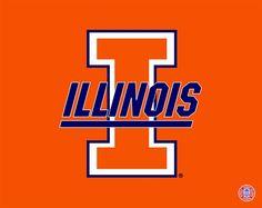 Illinois Fighting Illini logo | Fighting Illini | Pinterest