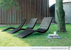 Online kaufen Slalom outdoor By tacchini, gartenliege aus birke Design Pietro Arosio, Kollektion slalom Lawn Furniture, Lounge Furniture, Furniture Design, Outdoor Furniture, Daybed Design, Lounge Design, Outdoor Cushions, Outdoor Chairs, Outdoor Spaces