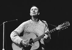 "American folk singer Pete Seeger died at age 94 on Jan. 27, 2014. Seeger's grandson Kitama Cahill-Jackson told The Associated Press his grandfather had been hospitalized for six days, but remained healthy until then. The iconic folk singer involved himself in activist causes from unionism to desegregation to the Occupy Wall Street rallies of 2011. He was awarded the Kennedy Center Honors in 1994 and in 1996 was inducted in the Rock and Roll Hall of Fame as an ""early influence."""