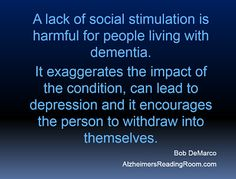 Dotty and I Lived our Life to the Fullest - Do You? | Alzheimer's Reading Room