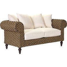 Chesterfield Loveseat from the Ernest Hemingway Outdoor by Thomasville collection at LaneVenture.com