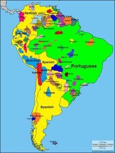 south america | languages