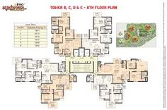 high rise residential floor plan ile ilgili görsel sonucu