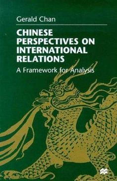This book, based on primary sources and field research, is the first of its kind to probe into the Chinese mindset to see how they perceive international relations. It analyzes the factors of power, M
