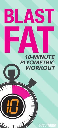 Melt off that extra fat with this quick plyometric workout.