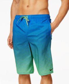 55f3798c4dcb Nike Performance Quick Dry Swim Trunks   Reviews - Swimwear - Men - Macy s