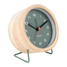 Wooden Alarm Clock Present Time Adult- A large selection of Design on Smallable, the Family Concept Store - More than 600 brands. Pile Aa, Time Design, Design Moderne, Alarm Clock, Decoration, House Design, Home Decor, Amazon, Bedroom