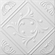 R 02 Styrofoam Ceiling Tile - cover popcorn ceiling?