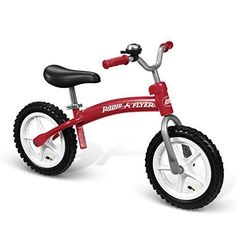 Radio Flyer Glide N Go Balance Bike is a top toy in our house, this is a toy our 5 year old loves! Radio Flyer, Radios, Balance Bike, Bicycle Maintenance, Cool Bike Accessories, Gliders, Cool Bikes, Mountain Biking, Tired