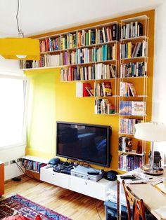 Krossing - Sistema a parete Libreria di Kriptonite