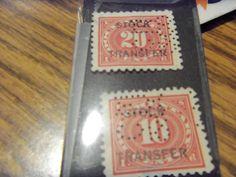 BOB COMBO-1918-#RD5-10 CT& #RD6 20CT STOCK TRANSFER-USED, VFINE