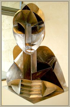 Constructed Head No. 2 (1916) - Naum Gabo
