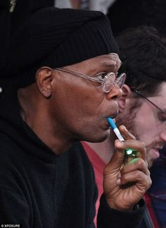 Katherine Heigel, Leonardo DiCaprio, Greg Gutfield are all people in the public eye who have been seen vaping, or known to vape now instead of smoking. Post your pics or list of celebrities you know are vaping! Hollywood Stars, Samuel Jackson, Vape Shop Online, Smokey Joe, Star Wars, Vape Juice, Electronic Cigarette, Health Benefits, Celebs