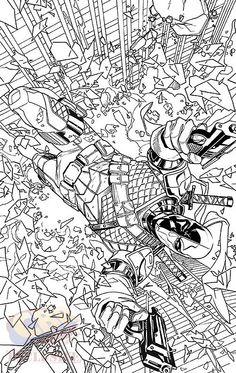 Capas variantes da DC Comics para colorir em 2016 http://www.universohq.com/noticias/capas-variantes-da-dc-comics-para-colorir-em-2016/