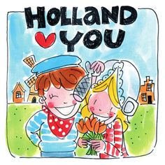 Holland loves you - Blond Amsterdam Blond Amsterdam, Character Concept, Concept Art, Round Robin, Diamond Picture, Couple Cartoon, Delft, Character Illustration, Canvas Frame