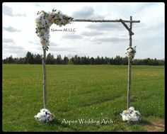 DIY Aspen Wedding Arch Kit/Rustic Wedding Arch For Indoor Or Outdoor Weddings/Shipping Included