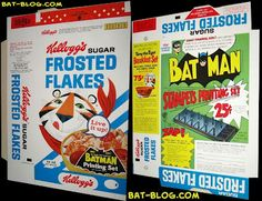 Boxed Cereal with Cool Prizes...
