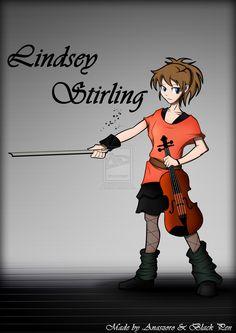 fan art of lindsey stirling