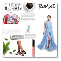 """""""Romwe 84"""" by zerina913 ❤ liked on Polyvore featuring Maybelline, Bobbi Brown Cosmetics and romwe"""