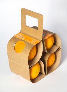 Packaging : VitaPack pour oranges par Ágnes Gyömrei  #design #packaging #food