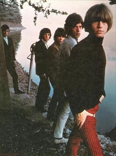 The Rolling Stones in California. Photo from the High Tide and Green Grass photo shoot 1966.