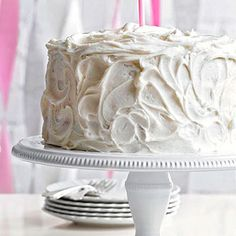Classic Vanilla Cake From Better Homes and Gardens, ideas and improvement projects for your home and garden plus recipes and entertaining ideas.